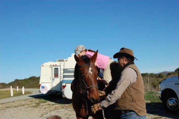 HorseParty2009/Rachel___Hank_with_Taz.jpg